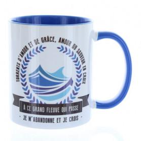 Mug Bleu cambridge Torrents d'amour et de grâce – MU-FH-002
