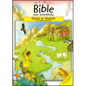 David et Goliath – Ma mini Bible avec autocollants – Editions Cedis