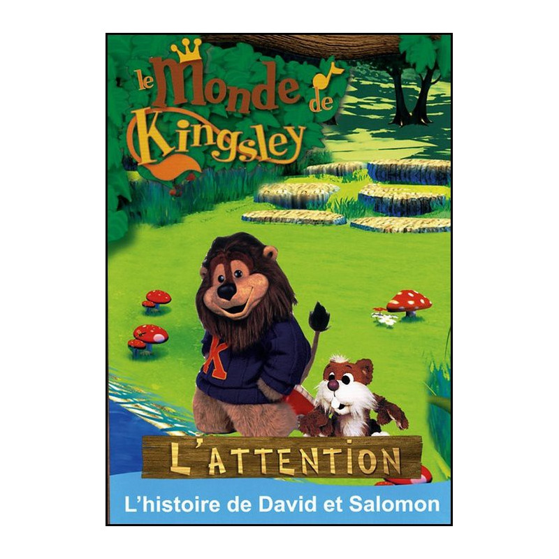 DVD L'attention – Le monde de Kingsley 13 - Biblio