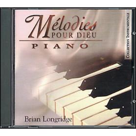 CD Piano Mélodies pour Dieu
