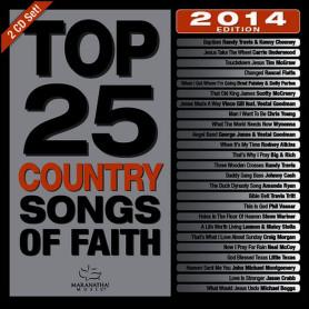 CD Top 25 Country Songs of Faith – Maranatha