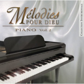 CD Mélodies pour Dieu Piano Vol 2 - Sephora