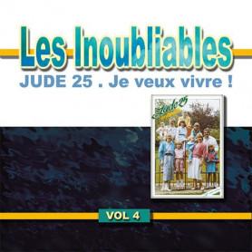 CD Jude 25 en famille - Je veux vivre - Les inoubliables 4