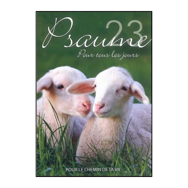 Livret Psaume 23 pour tous les jours - Evangile pour Tous