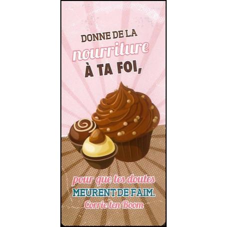 Marque-page magnet Donne de la nourriture à ta foi