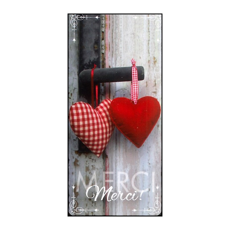Marque-page magnet Merci