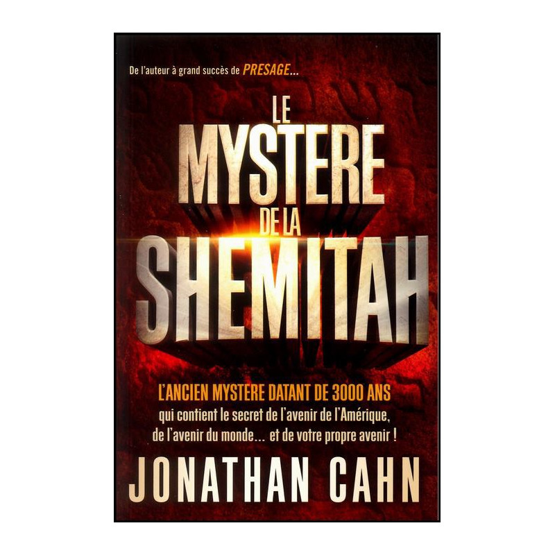 Le mystère de la Shemitah – Editions Menor