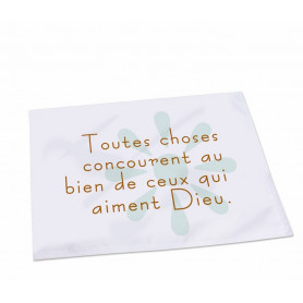 Set de Table Toutes choses concourent – ST-A-020