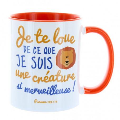 Mug Orange Je te loue de ce que je suis – MU-FC-026