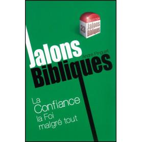La confiance la foi malgré tout - Jalons Bibliques 23 – Editions Viens et Vois