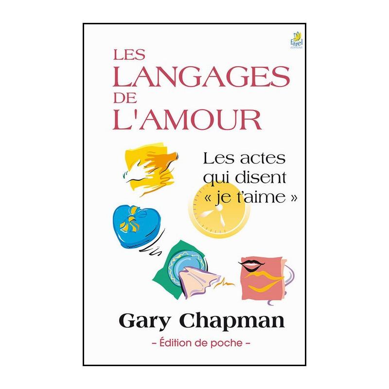 Les langages de l'amour poche – Gary Chapman – Editions Farel