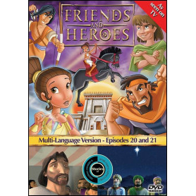 DVD Friends & Heroes – Episodes 20 & 21 – Aide et réconfort / Otages