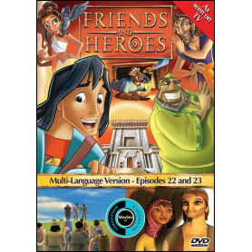 DVD Friends & Heroes – Episodes 22 & 23 Le monte-charge/Démolition