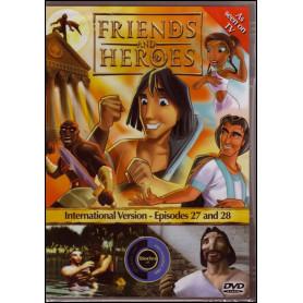 DVD Friends & Heroes – Episodes 27 & 28 – L'école des gladiateurs /Tuer ou être tué