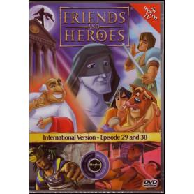 DVD Friends & Heroes – Episodes 29 & 30 – Amis,Romains,Rebelles /Graines de champions