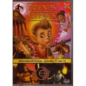 DVD Friends & Heroes – Episodes 33 & 34 – Rebelle intérimaire/Donnant, donnant
