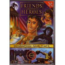 DVD Friends & Heroes – Episodes 35 & 36 – Espions et calomnies/Le trésor de l'Empire