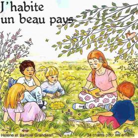 CD J'habite un beau pays – Grandjean