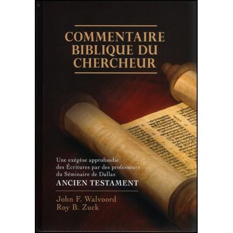 Commentaire biblique du chercheur Ancien Testament – Editions Impact
