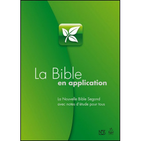 La Bible en application – Bible d'étude NBS