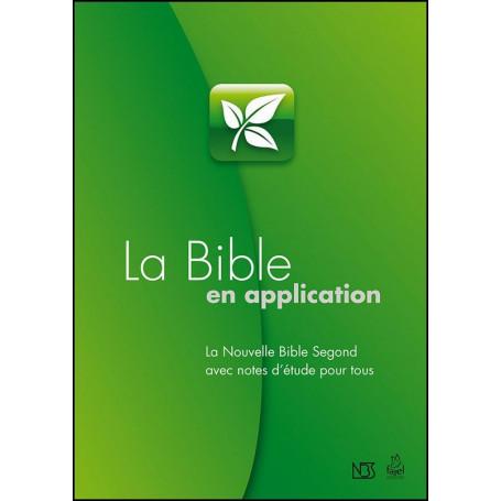 La Bible en application – Bible d'étude NBS