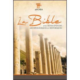 Bible Archéologique Segond 21 Cuir véritable noir