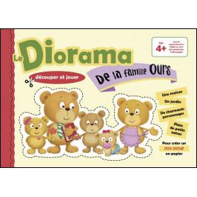 Le Diorama de la famille ours – paper toys