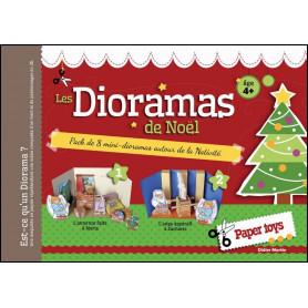 Les Dioramas de Noël – paper toys