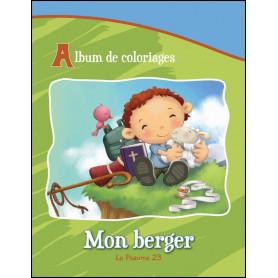 Mon Berger – Le Psaume 23 – Album de jeux et de coloriages