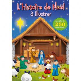 L'histoire de Noël à illustrer - Editions Cedis