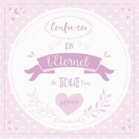 Tableau Alu Confie-toi – Prv 3.5 – 20x20 cm