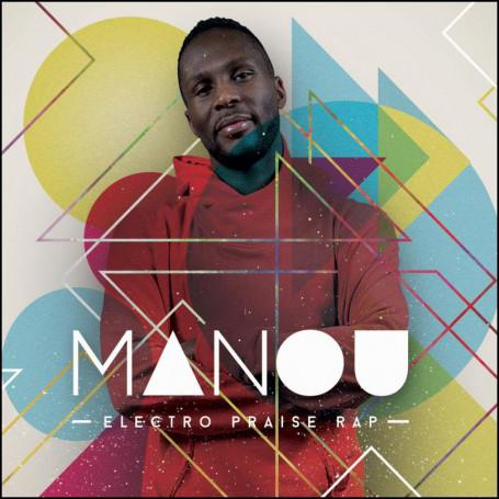 CD Electro Praise Rap - Manou