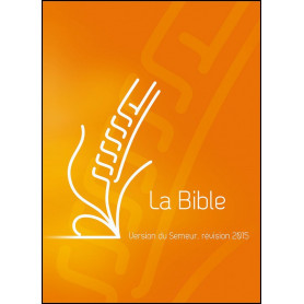 Bible Semeur 2015 compacte rigide orange