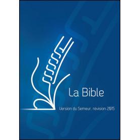 Bible Semeur 2015 compacte rigide bleue
