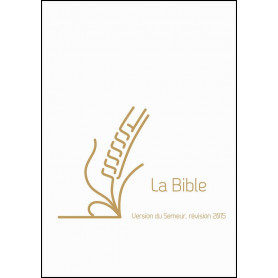 Bible Semeur 2015 compacte rigide lin blanc