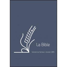 Bible Semeur 2015 compacte rigide lin bleu