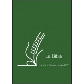 Bible Semeur 2015 compacte rigide lin vert