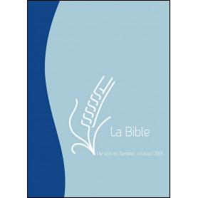Bible Semeur 2015 compacte souple duo bleue