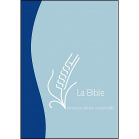 Bible Semeur 2015 compacte souple duo bleu zip