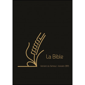 Bible Semeur 2015 compacte cuir souple noir