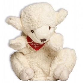 Peluche marionnette mouton 24cm - 71086