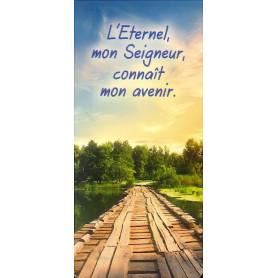 Marque-page Magnet L'Eternel, mon Seigneur, connaît mon avenir