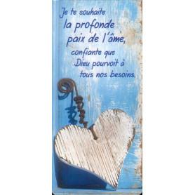 Marque-page Magnet Je te souhaite la profonde paix de l'âme