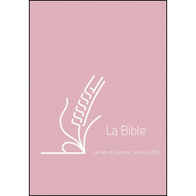 Bible Semeur 2015 mini souple vivella rose zip