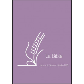 Bible Semeur 2015 mini souple vivella violet zip