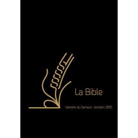 Bible Semeur 2015 mini cuir noir souple zip tranche dorée
