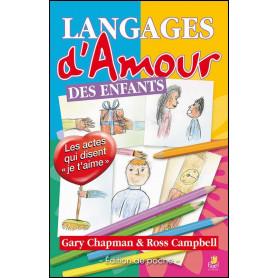 Langages d'amour des enfants édition de poche – Gary Chapman