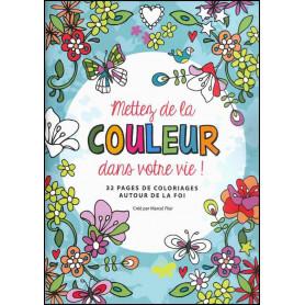 Mettez de la couleur dans votre vie – Editions Cédis