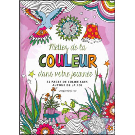 Mettez de la couleur dans votre journée – Editions Cédis