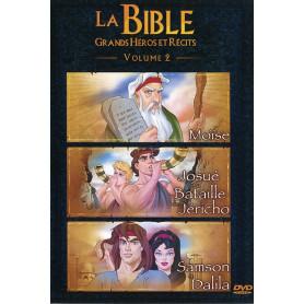 DVD La Bible Grands héros et récits - Volume 2